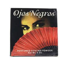 Ojos Negros '' Perfumed Dusting Powder 6oz/170g New In Box