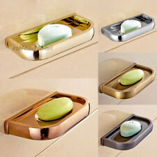 Solid Brass Bathroom Wall Mounted Soap Dish Holder Tray For Shower or Bathtub