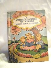 Vintage 1942 A Child's Garden of Verses R L Stevenson Tony Brice