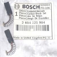 2x Kohlebürsten Motorkohlen Schleifkohlen 5x8x15 für Bosch PEX GBH GSB PSB UBH