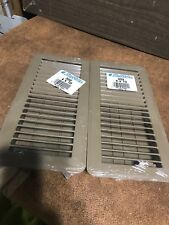 "Lot 2 Air Mate Heat/Cooling Floor Vent. — 302 Brand New 4"" x 10�"