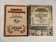 Walnut Hollow Farm Creative Woodburning Patterns & Instructions ~ Book I & Iii