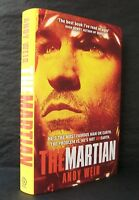 THE MARTIAN & ARTEMIS Andy Weir UK SIGNED LTD 1st EDITION