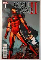 Civil War II #1B Marvel 2016 NM Comic Book Variant 1:15 Retailer Incentive