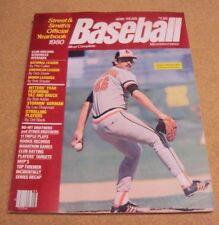 1980 Street & Smith's Official BASEBALL Yearbook Mike Flanagan Baltimore Orioles