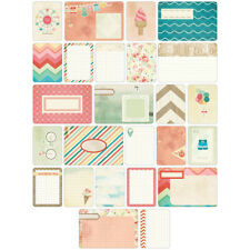 Becky Higgins Project Life Themed Cards - SUMMER - 60 cards - Scrapbooking NEW