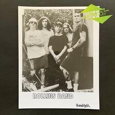 GENUINE 1990's 'ROLLINS BAND' IMAGO PRESS RELEASE BAND PHOTO HENRY ROLLINS