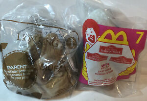 McDonald's Toys Lion King Old & New Lot Of 2 Happy Meal