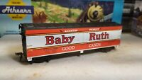 """Tyco Baby Ruth boxcar Reefer - """"40 Foot"""" Baby Ruth Car"""