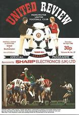 Manchester United v Southampton - Div 1 - 9/4/1983 - Football Programme