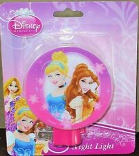 Disney Princess Belle &Cinderella Pink Night Light Lamp by Tri-Coastal Design