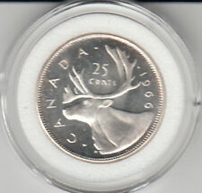 1966 Canada 25 cents Silver Proof Cameo