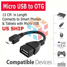 Micro USB Male To USB 2.0 Female OTG Cable Adapter For Samsung Smartphone Tablet