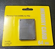 Memory Card (64 MB) for PS2 Playstation 2