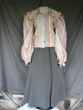 Victorian Dress Edwardian Civil War Colonial Style 2 Piece