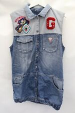Vintage Guess Denim Dress With Patches