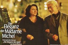 THE HEDGEHOG - Le hérisson - Lobby Cards Set - Josiane Balasko, Anne Brochet