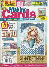 MAKING CARDS,    BRITAIN'S BEST VALUE CARD MAKING MAGAZINE   AUGUST, 2015