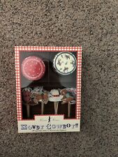 Meri Meri Howdy Cowboy Cupcake Kit-Includes 24 cupcake cases and 24 decorative
