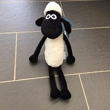 "WALLACE & GROMIT TIMMY TIME SHAUN THE SHEEP 16"" SOFT TOY BEANIE PLUSH"
