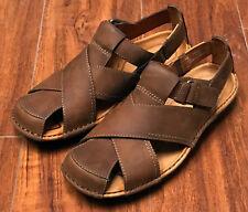 Timberland Mizzen Fisherman Sandals, Brown Leather, US 9.5, EU 43.5, NEW, RARE!