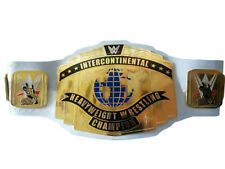 WWE Intercontinental Heavyweight Wrestling Championship Belt Replica White