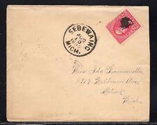 US Sebewaing MI Huron Co. 1897 b224