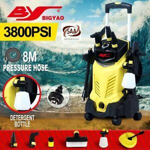 3800 PSI 8M Hose High Pressure Washer Cleaner Electric Water Gurney Pump *BIGYAO