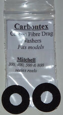 Carbontex Drag Washers Mitchell 300,400,500 & 800 series + 10g FREE Drag Grease