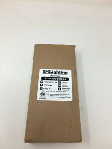 GM Lighting LED Driver, 120V, Indoor/Outdoor, (LTHM100-DIM-24)
