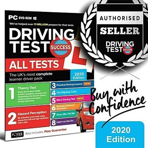 2020 Driving Theory Test and Hazard CD DVD Rom Just Released. Brand New