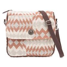 "Romy Journey Crossbody Bag 11"" x 2.5"" x11"", Lined,Back Zip Pocket Woven Jacquard"