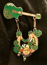 Hard Rock Cafe INDIANAPOLIS 2011 St. Patrick's Day PIN ~ FireWoman ~ new