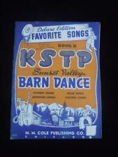 1946 KSTP Radio 96 Pages Sunset Valley Barn Dance II Deluxe Edition Music Songs