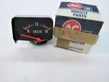 * NOS 1976 Chevy Nova SS Concours Floor Console Ammeter Gauge GM # 6474332