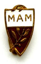 Distintivo MAM, cm 1 x 1,8