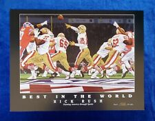 Rick Rush Fine Art Best in The World - San Francisco Forty Niners