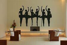 Wall Room Decor Art Vinyl Sticker Mural Decal Ballet Dance Women Ballerina FI387