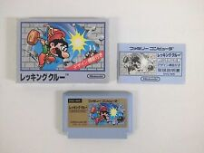 WRECKING CREW -- Boxed. Famicom, NES. Japan game. Work fully. 10602
