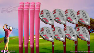 DEMO USED Senior Ladies iDrive Pink Golf Clubs All True Hybrid (4-SW) Full Set
