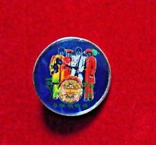 """The Beatles / Sg't. Pepper - Vintage UK Cloisonne pin-on,  New cond. 1"""" across"""