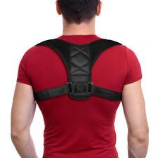 Adjustable Posture Corrector Body Back Pain Therapy Belt Brace Shoulder Support