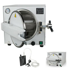 Dental Lab Equipment 18L Medical Steam Pressure Sterilizer Autoclave +Trays+Gift