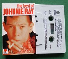 The Best of Johnnie Ray inc Hernando's Hideaway + Cassette Tape - TESTED