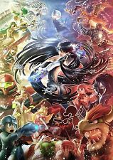 Bayonetta Super Smash - High Quality Huge Poster 32 in  x 22 in - Fast Shipping