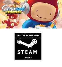 SCRIBBLENAUTS UNMASKED VIDEO GAME - STEAM DIGITAL DOWNLOAD - WINDOWS PC GAME