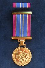 SERBIAN ARMY - MEDAL FOR 20 YEARS OF ARDENT MILITARY SERVICE + PIN RIBBON BAR