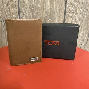 Tumi Alpha SLG Multi Window Men's Card Case/Wallet- Brown NIB