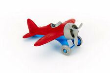 Green Toys Airplane - Red - 100% Recycled Toy - No BPA - Diswasher Safe