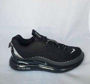 Nike MX-720-818 CI3871-001 Black/Metallic Silver Men's Size 10